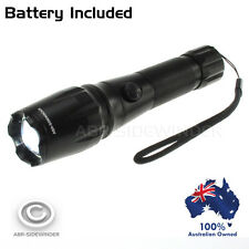 ULTRAFIRE RECHARGEABLE CREE XM-L T6 UltraFire Torch incl battery 12V DC charger