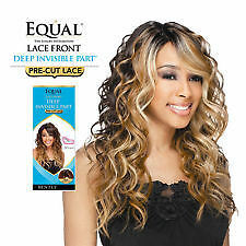 Equal Invisible Part Lace Front Wig Bently #1B