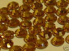 34ss LT PEACH HOTFIX swarovski rhinestones 12pcs