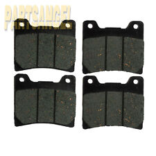 Front Carbon Motorcycle Brake Pads For 1985 1986 Yamaha XJ 700