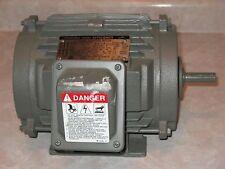 Toshiba High Efficiency Induction Motor .5 HP , 3 Ph, 1755 RPM, Fram 56/56H