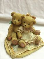 Cherished Teddies-Nathan And Nellie- Its Twice as Nice with You