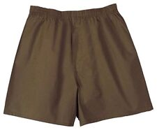 GI Men's Military Cotton Boxers Brown 436 8420-01-112-2879 2 Pack Size 50