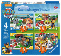 Paw Patrol Jigsaw Puzzle - 4 Puzzles in a Box Paw Patrol 06936 New Ravensburger