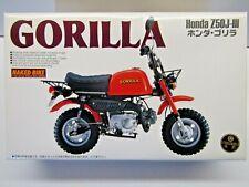 Aoshima 1:12 Scale Honda Z50J-lll Gorilla Minibike Model Kit - New - #030936-800