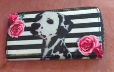 Dalmatian Dog and Rose Flower Wallet or Purse for Women or Kids