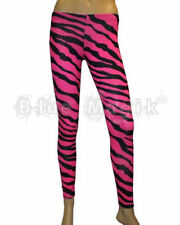 Elastane Animal Print Plus Size Leggings for Women