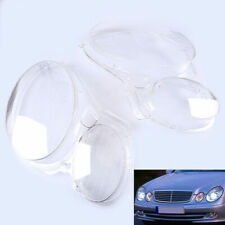 For Benz W211 E350/300/200 2007-2009 Headlight Lens Replacement Cover Pair Set