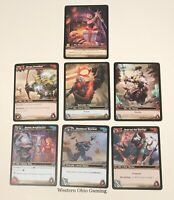 WOW Lot of 7 Cards NEW World of Warcraft Trading Card Game