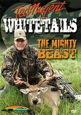 TED NUGENT WHITETAILS THE MIGHTY BEAST New Sealed DVD Deer Hunting