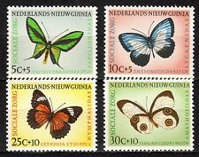 Dutch New Guinea - 1960 Butterflies - Mi. 63-66 MNH