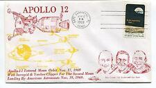 1969 Apollo 12 Entered Moon Orbit Conrad Gordon Bean Florida Space Cover