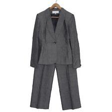 Jones New York 2Pc Blazer Pants Suit, Black Multi, Sz 4/6 (6/8) NWT $280