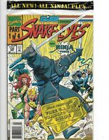 GI Joe #135 UPC newsstand variant / sealed w trading card Snake Eyes Ninja Force