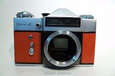 Funky 1989 KMZ ZENIT E 35 mm SLR Camera Body-Re-Peau de cuir #89081233
