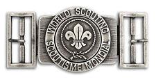 World Scout Belt Buckle Antique Silver Colour Finish