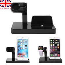 2 in 1 Charging Dock Station Stand Holder for Apple iWatch & iPhone