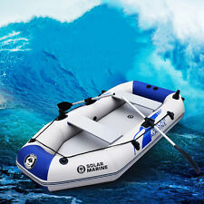 2.3m Kayak 3-4 Person Summer Water Floating Inflatable Fishing Boat Canoe Paddle
