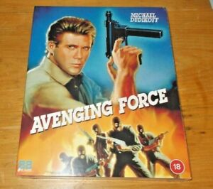 Avenging Force Blu ray Brand new and sealed Region B 88 films with slip cover