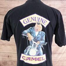 VINTAGE JOE CAMEL GENUINE TASTE CIGARETTES 1994 90s SINGLE STITCH T SHIRT XL