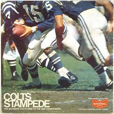 """FLEETWOOD Baltimore Colts """"COLTS STAMPEDE"""" 1968 Highlights THOMPSON FCLP-3034"""