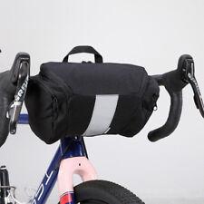 Bicycle Handlebar Bag Front Basket Bag MTB Bike Frame Pannier Pouch Shoulder Bag