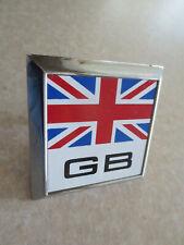 Vintage English GB car badge for Austin Morris Mini Rover Wolseley -