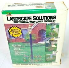 Amturf Landscape Solutions Professional Wildflower Edging Kit 10 Feet Black