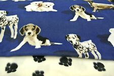 Dog Blanket Westies Beagles Dachshunds Double Sided Can Personalize 28x22