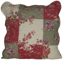 Clayre & Eef, Kissenhülle Kissenbezug gequiltet Baumwolle 40 x 40 cm