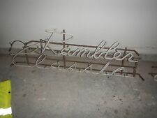 1950's RAMBLER CLASSIC NEON DEALERSHIP SIGN ORIGINAL RARE NASH AMERICAN MOTORS