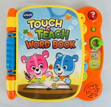 vTech Touch and Teach Word Book Educational Interactive Toddler Educational