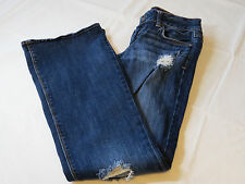 American Eagle Stretch Artist 8 regular Juniors women Denim jeans GUC pre owned