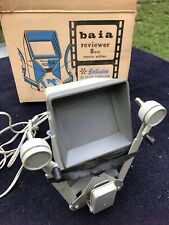 Vintage Baia Reviewer 8 MM Movie Editor