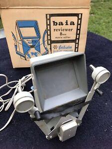 Vintage Baia Reviewer 8 MM Movie Editor