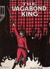 The Vagabond King, Souvenir Vintage Theatre Book, 1929