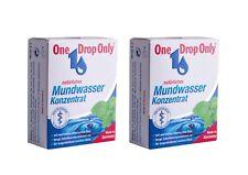 2x ONE DROP ONLY natuerliches Mundwasser Konzentrat 50ml natural mouth wash