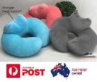 U Shaped Memory Foam Rebound Neck Support Headrest Soft Car Flight Travel Pillow