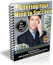 ALTERING YOUR MIND TO SUCCEED PDF EBOOK FREE SHIPPING RESALE RIGHTS