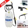 Garden Chemical Sprayer Bleach Pump 1.5 Gallon Handheld Lightweight Disinfectant