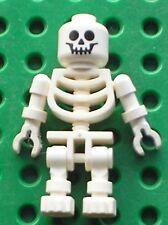 Personnage LEGO Minifig White Skeleton 82359 / Set 5988 6097 6296 6091 6098 6090