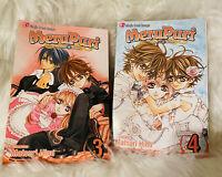Shojo Beat Manga English Text MeruPuri Volume 3-4
