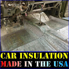 Car Insulation 12 Sqft Thermal Sound Deadener Mat Block Automotive Heat & Sound