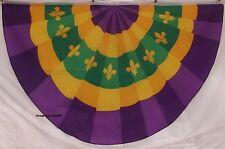 PURPLE & GOLD Fleur De Lis FLAG - LOUISIANA - NEW ORLEANS - MARDI GRAS  FOOTBALL