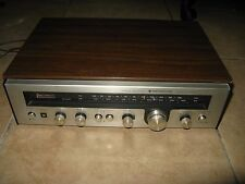 Vintage Kenwood KR-1400 Stereo Receiver with Walnut Cabinet
