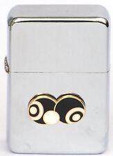 Bowls And Jack B&W Petrol Cigarette Lighter Enamel Emblem Gift Boxed