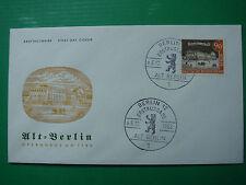 Berlin 228 BUSTA PRIMO GIORNO SERIE Alt-Berlin 90 PF teatro 1962