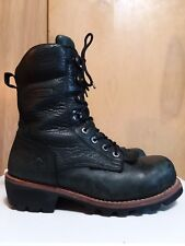 """Wolverine EAA Safety-Toe 8"""" Logger Work Boot  size 10.5"""