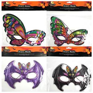 🦇🦋👻HALLOWEEN MASK👻Butterfly Bat Dressing Up Costume Party Fancy Dress👻🦋🦇
