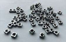 20 pieces - square bead with hole brand new antique look - 0.5 cm x 0.5 cm